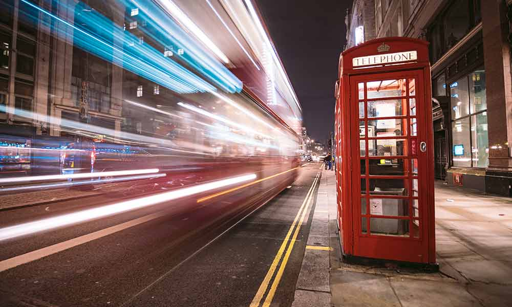 Traditional Phone Booth - London